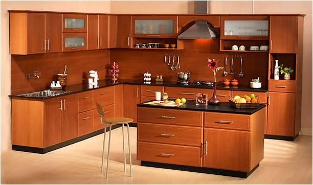 there are different types of modular kitchens available in
