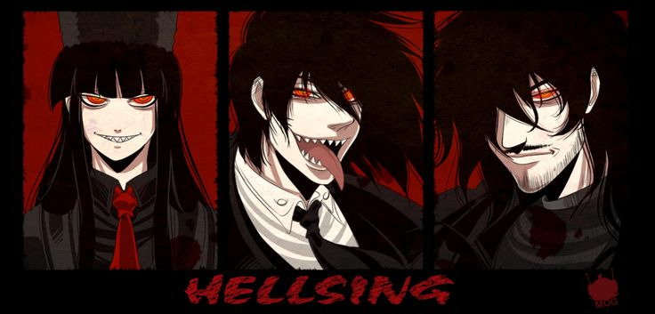 Faces of the Count by chickenoverlord.deviantart.com on ... Count Alucard Hellsing Ova