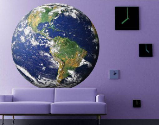 Muursticker No.823 planeet aarde