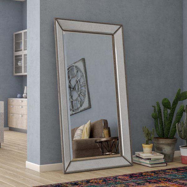 Bemelle Beaded Leaner Mirror Leaner Mirror Mirror Frame Diy Mirror Wall