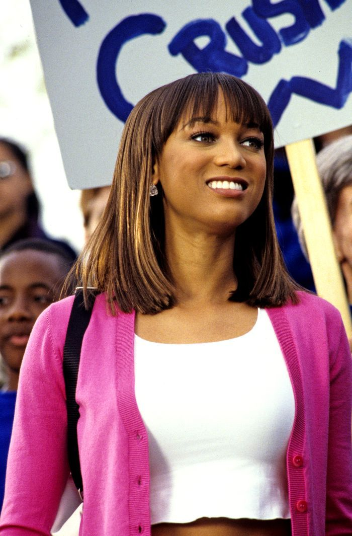 Tyra Banks S Best Life Size Outfits That Shine Bright Shine Far Movies Outfit Tyra Life Size Movie