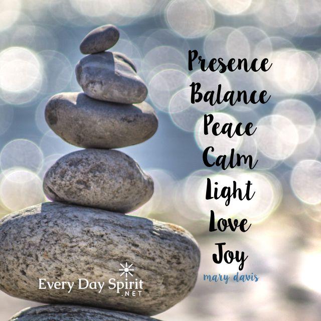 Be present to love. xo Get the app of beautiful wallpapers at ~ www.everydayspirit.net xo #calm #meditation #peace #joy