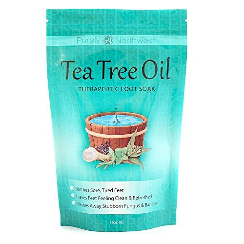 Tea Tree Oil Foot Soak With Epsom Salt, Helps Treat Nail