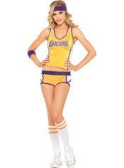 Halloween costume #2... maybe I am going for an all out Laker holiday, I'll have to wear this to opening game October 30th!