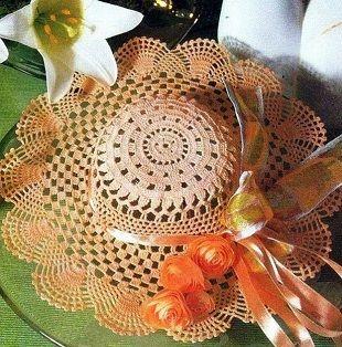 Вязание ажурной шляпы