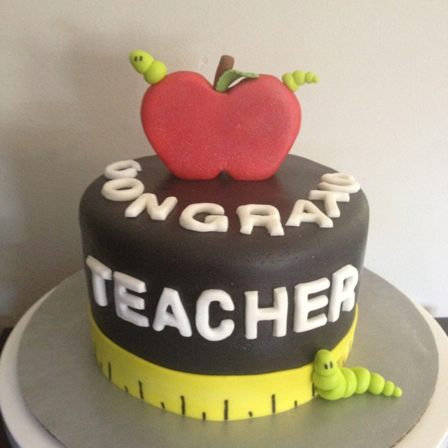 Cake Images For Teacher : Teacher day Cake My Cakes Pinterest Teachers  day ...