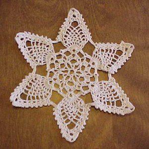 Crochet Snowflake Patterns For Beginners : doily patterns for beginners Image of Pineapple ...