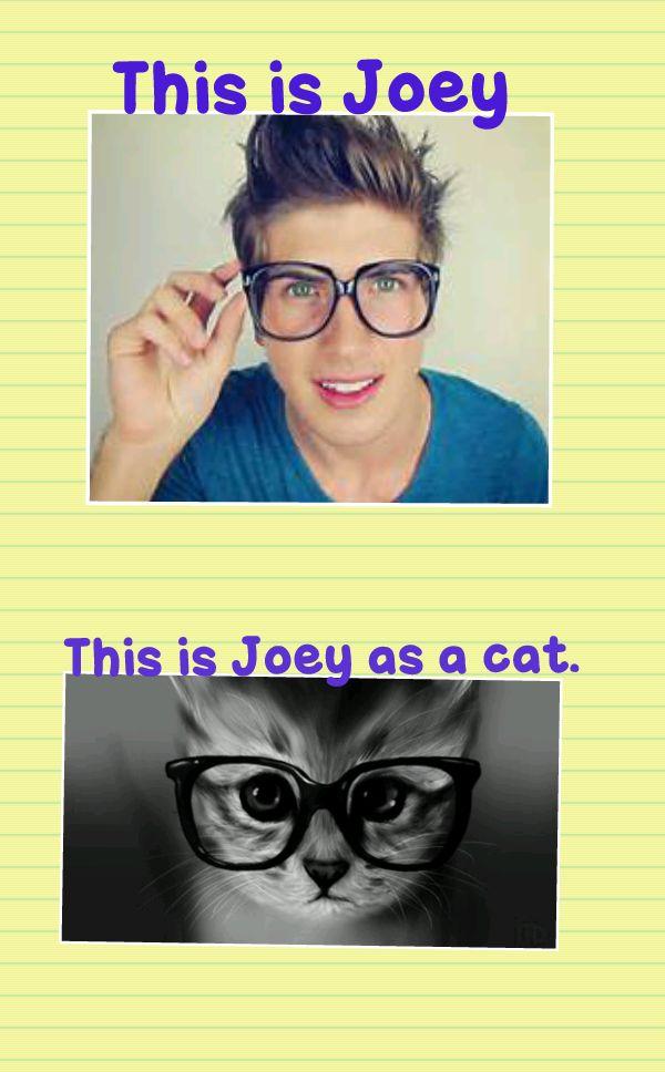 joey graceffa and hitch | joey graceffa:)