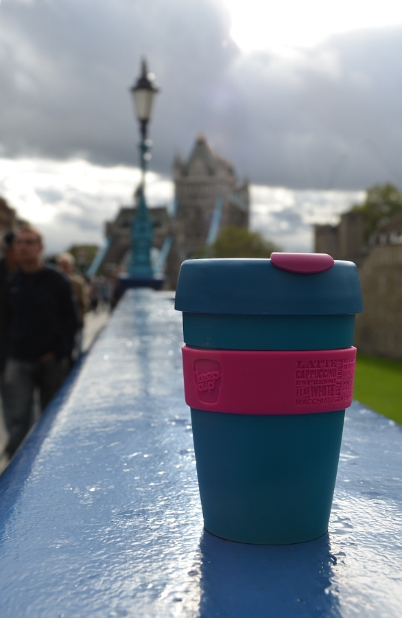 KeepCup and Tower Bridge