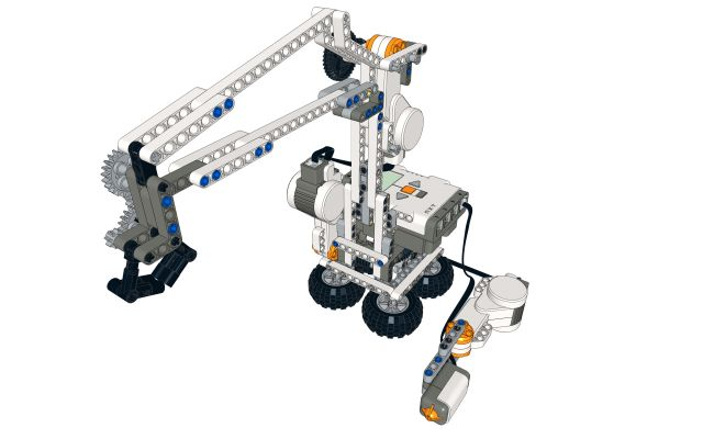lego ideas johnny 5 from short circuit