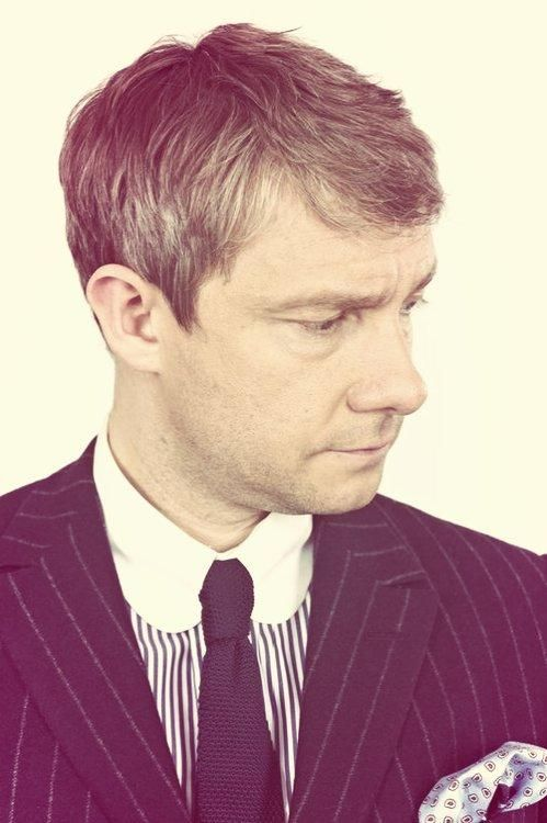 Martin Freeman~ Because he's not adorable, or cute, or whatever. He's dashing, and handsome, and awesome.