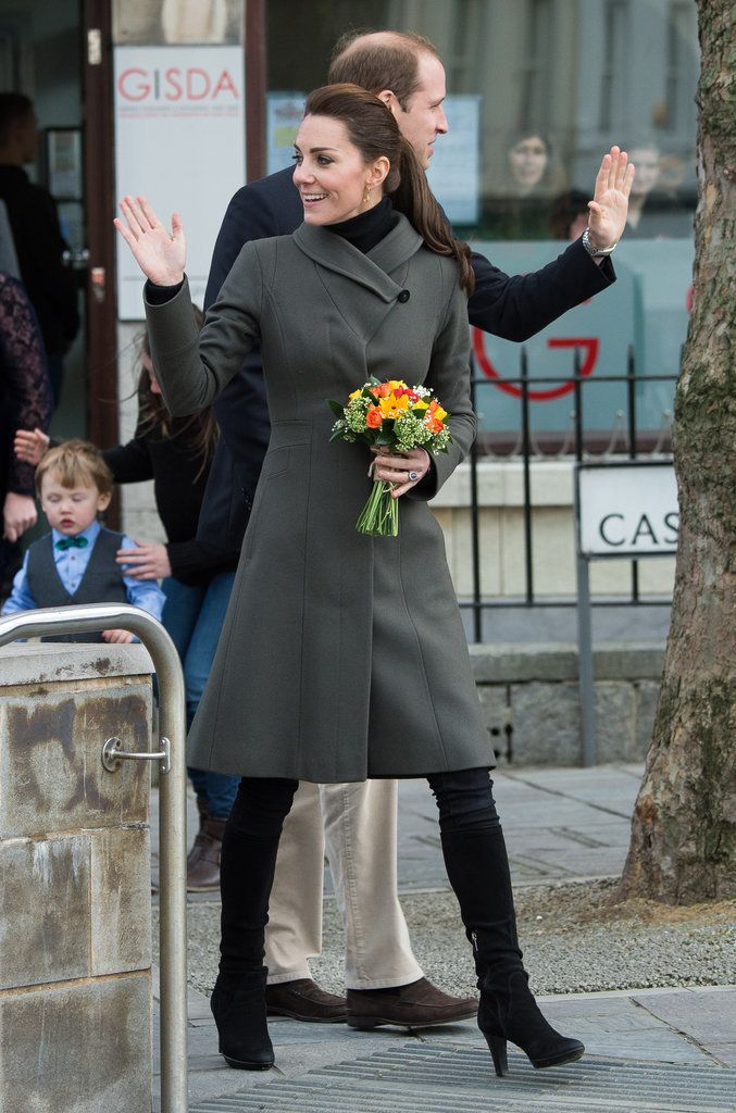 Kate Middleton's Colorful Coats | POPSUGAR Fashion