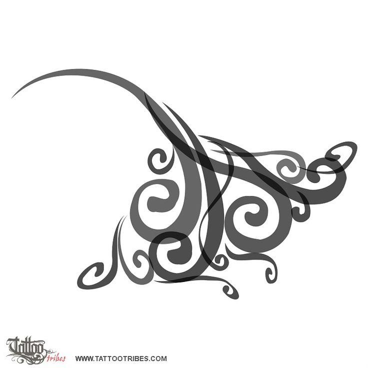 TATTOO TRIBES - Dai forma ai tuoi sogni, Tatuaggi con significato - manta, vento, aria, libertà, protezione, eleganza, forza