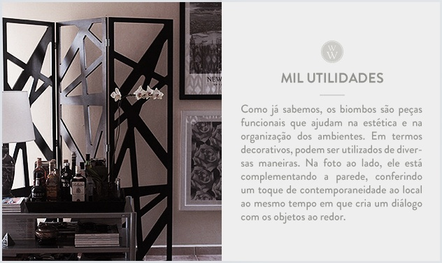 31 best biombos images on pinterest folding screens room dividers and panel room divider - Biombos casa home ...