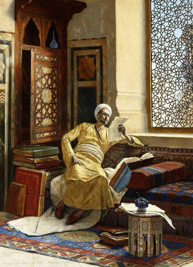"""""""The scholar""""- Ludwig Deutsch"""