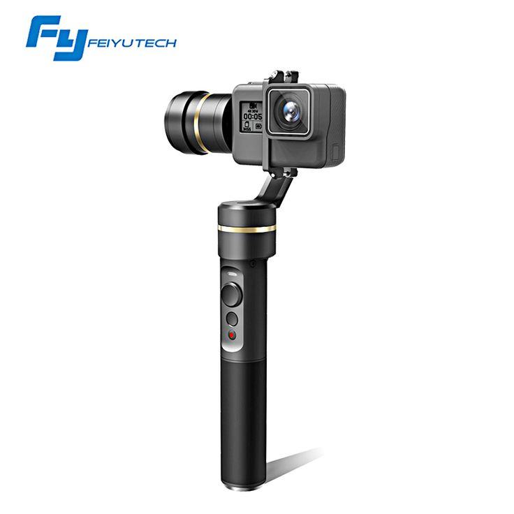FeiyuTech fy G5 3-axis Handheld Gimbal Splashproof For GoPro HERO5 4 3 3+ Xiaomi yi 4k SJ AEE Action Cameras Official Store