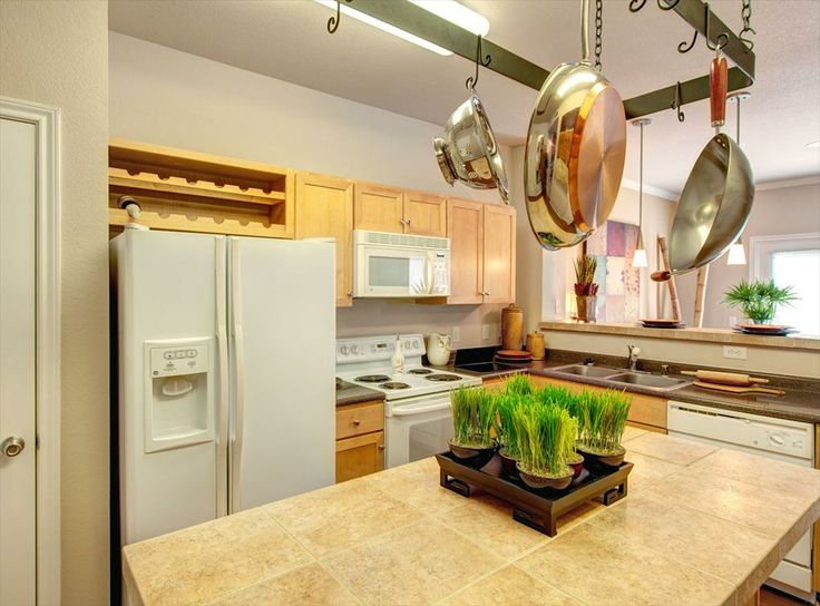 Model Kitchen At Amli Memorial Heights A Luxury