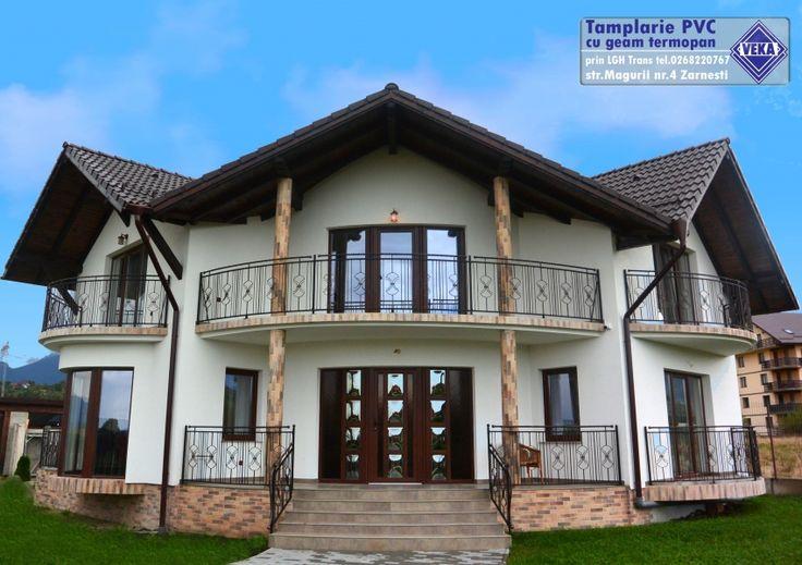 Orice casa de vis merita ferestre pe masura. Proiect realizat de partenerul nostru, LGH Trans.  Aici gasesti mai multe proiecte VEKA: http://www.fereastraveka.ro/proiecte/proiecte_parteneri_veka