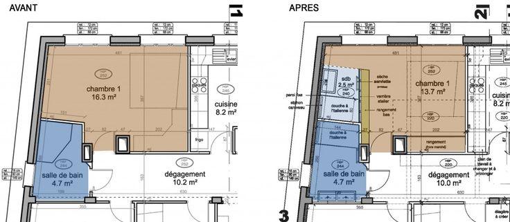 une nouvelle salle d 39 eau dans la chambre. Black Bedroom Furniture Sets. Home Design Ideas