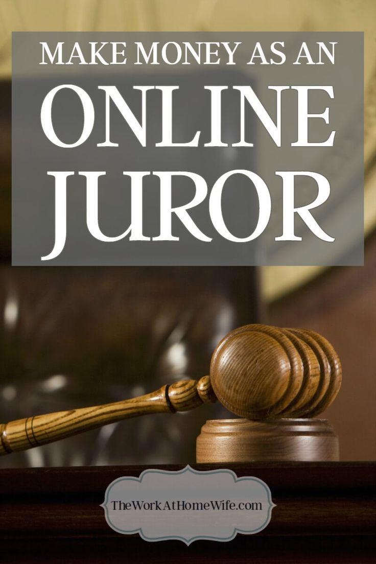 Online Juror Opportunities: Make Money Participating In Mock Trials