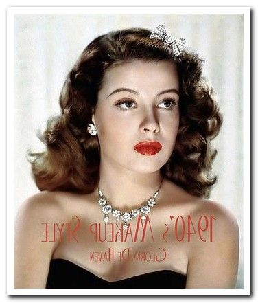 1940s hair and makeup styles 70 best 1940 s hair amp make up images on hair 5273
