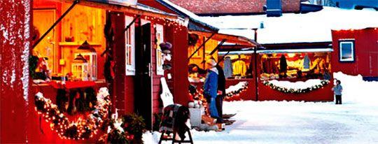 De skønneste julemarkeder i Sverige - Sjov for børn på ferie