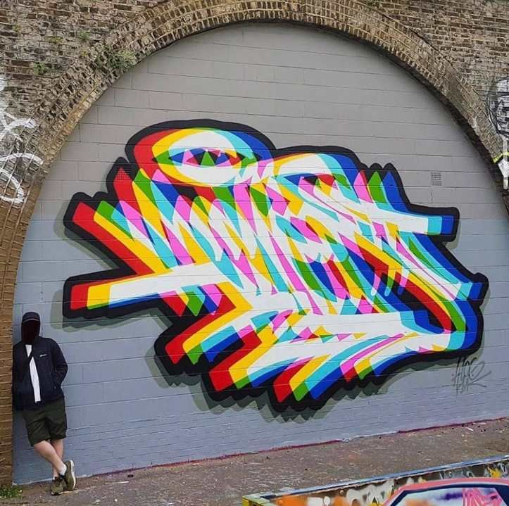 Aches in london 2020 in 2020 graffiti wall art street