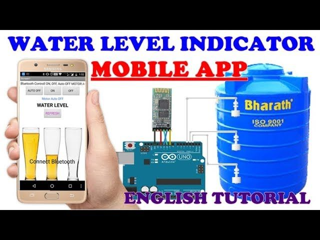 WATER LEVEL INDICATOR MOBILE APP Sen Electronic Project
