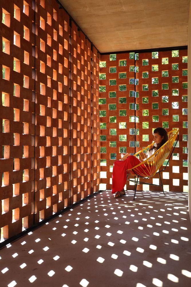 Galeria de Pavilhão Experimental de Tijolos / Estudio Botteri-Connell - 31