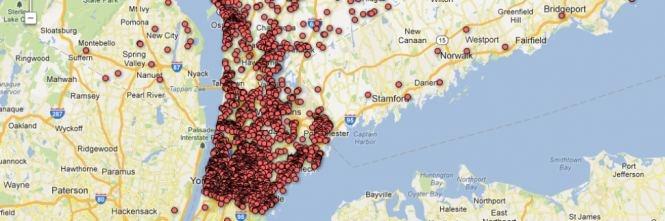 Usa, online su giornale mappa interattiva dei possessori d'armi