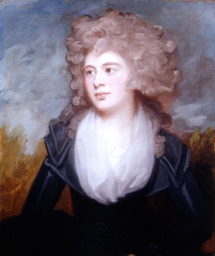 Mary Chichester, Lady Clifford-Constable, 1789.