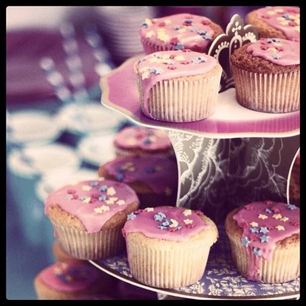 Dei bei #cupcakes alla #vaniglia @guarnireipiatti