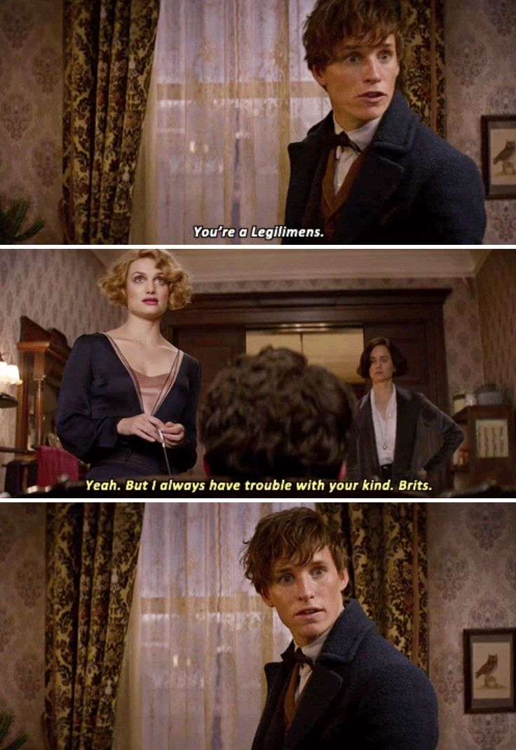Fantastic Beasts - it's the accent