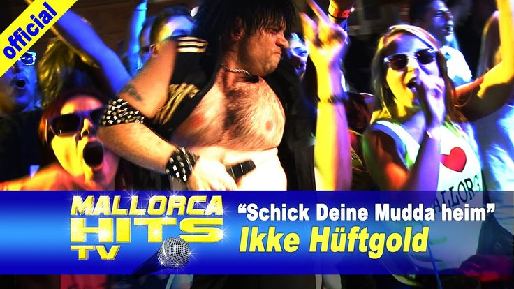 """Ikke Hüftgold mit """"Schick Deine Mudda heim"""" - live bei der Mallorca Party Baden in Bietigheim. Mehr Infos: http://mallorcahitstv.de/2014/02/ikke-hueftgold-schick-deine-mudda-heim-live/"""