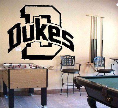 NCAA Duquesne Dukes Logo Emblem Wall Art Sticker Decal (195)
