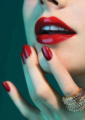 I love this shade of red. I absolutely LOVE it.
