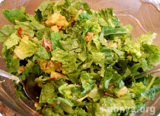 Рецепты салатов из маринованных огурцов
