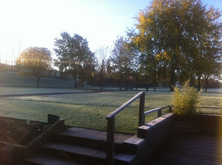 Even on a frosty morning our surroundings are beautiful