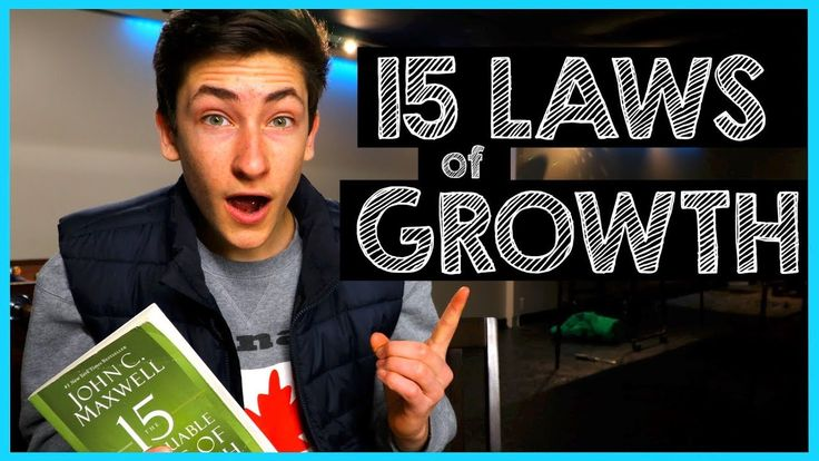 Everything you NEED to know about Personal Growth - 15 Laws of GROWTH