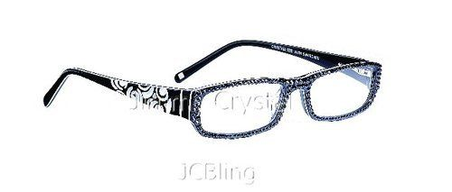Jcbling Jimmy Crystal Hottest Frame Style In Black