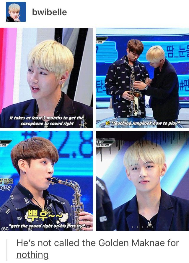 lol Taehyung's face (and jungkook's!)