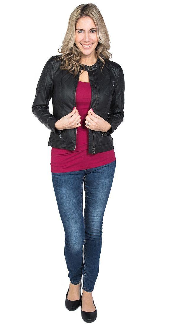Brighton Faux Leather Jacket