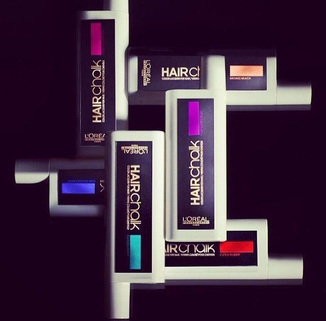 #hairchalk by L'Oreal Professional I can't wait to try these!!! Just got em at the salon