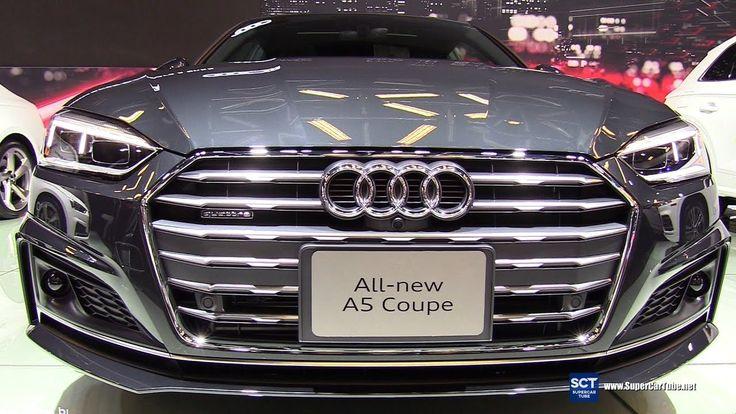 2018 Audi A5 TFSI Quattro Coupe - Exterior and Interior Walkaround - 201...