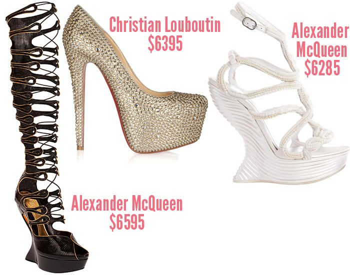 This Season's Most Expensive Shoes - ShoeRazzi
