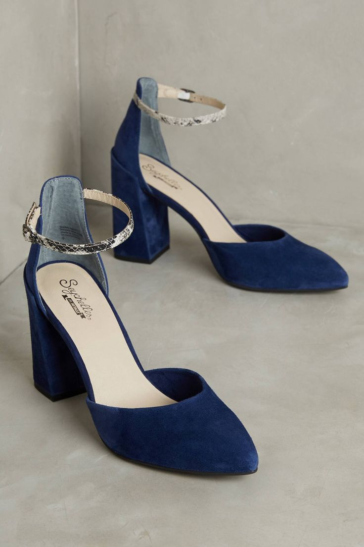 Womens Shoes On Sale in Outlet, Azure, Suede leather, 2017, 3.5 Prada