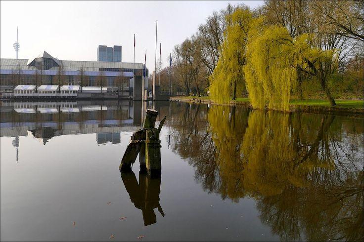 Bij het Beatrixpark in Amsterdam...