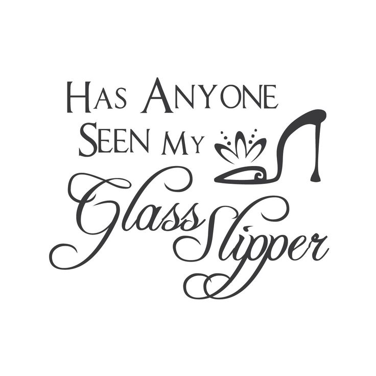 wall quotes wall decals - Cinderella