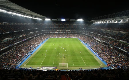 (Soccer) Bernabeu, Madrid - home of Real Madrid