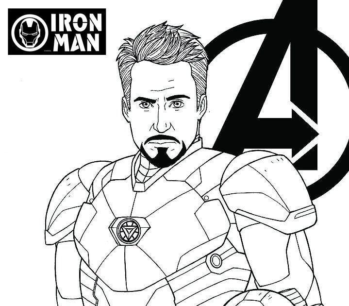 Avengers Endgame Iron Man Tony Stark Coloring Page Avengers Avengers Endgame Coloring Pages Iron Man Avengers Coloring Pages Coloring Pages Avengers Coloring